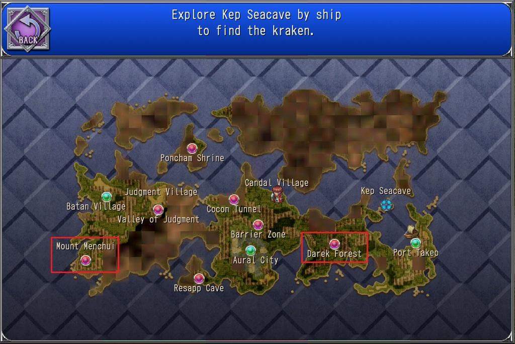 Sub-Quest 10 locations